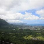 Die Weiten des Meeres und ein toller Ausblick über O'ahu – Nu'uanu Pali Lookout
