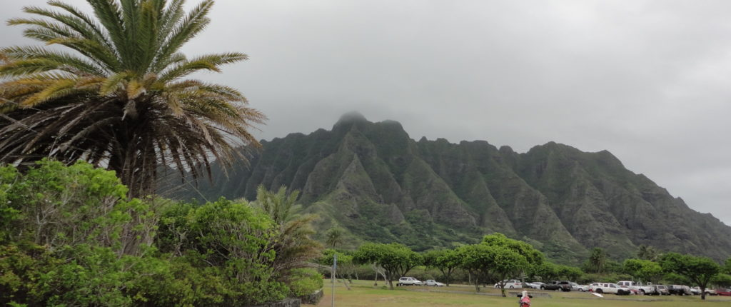 Kualoa Mountains