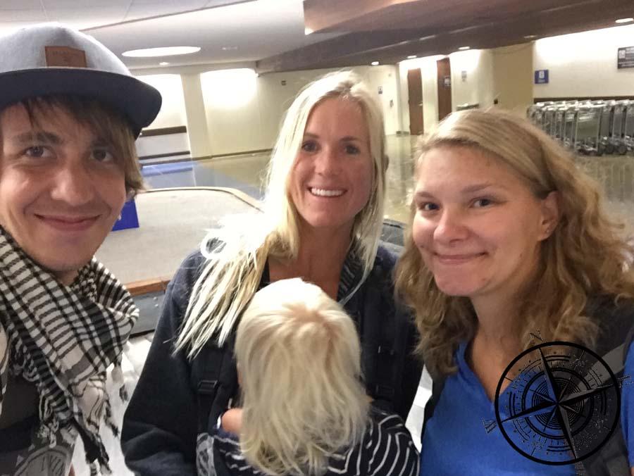 Torben, Viviane und Bethany