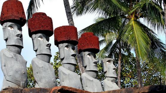 Polynesian Cultural Center - Staturen
