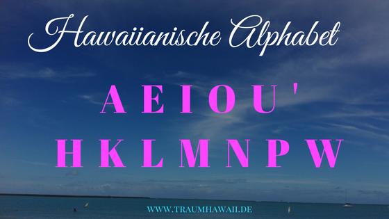 Fakten über Hawaii - Alphabet