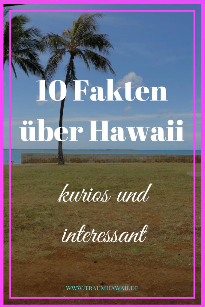Fakten über Hawaii - Pinterest