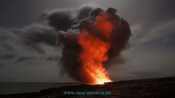 Fakten über Big Island - Vulkan