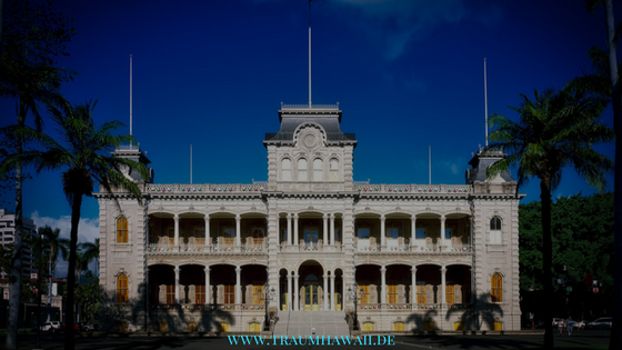 Fakten über Oahu - Iolani Palace