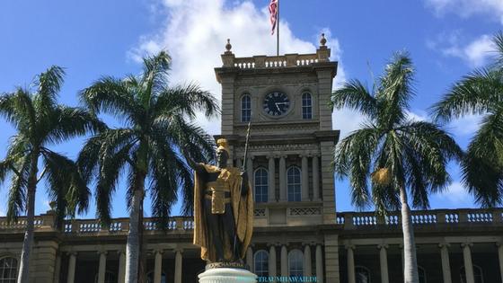 Ioalni Palace - King Kamehameha