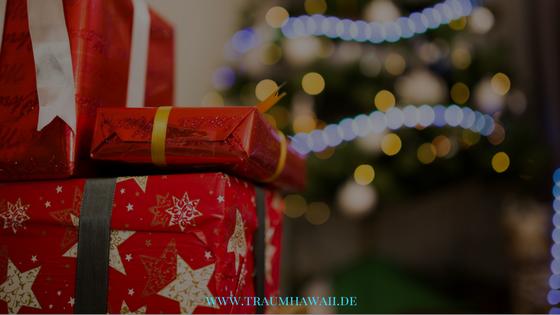 Weihnachtsgeschenkeliste - Geschenke
