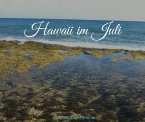 Hawaii im Juli - FB